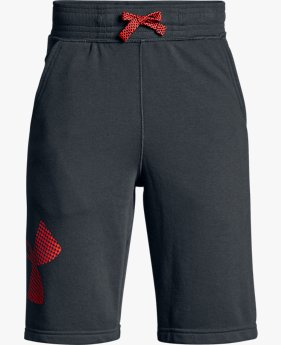 Shorts de Treino Infantil Masculino Under Armour Graphic Fleece