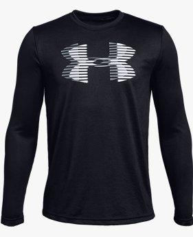 Camiseta manga longa UA Tech™ Big Logo infantil masculina