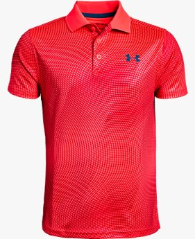 Polo UA Performance Novelty para niño