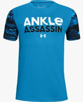 Erkek Çocuk UA Ankle Assassin Kısa Kollu Tişört