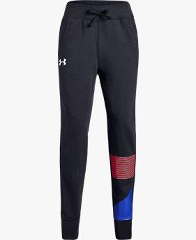 Pantalones de Entrenamiento UA Rival Fleece para Niña
