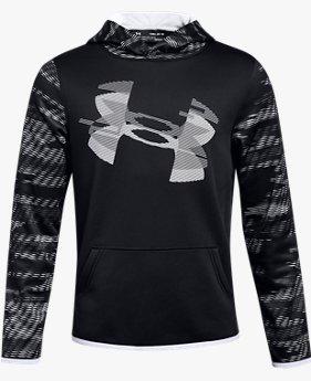 Boys' Armour Fleece® Sleeve Hoodie