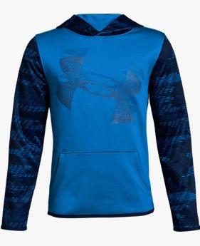 Erkek Çocuk Armour Fleece® Sleeve Kapüşonlu Üst