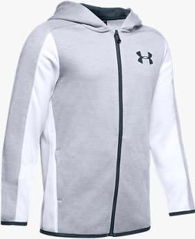 Sudadera Armour Fleece® Full Zip para Niño
