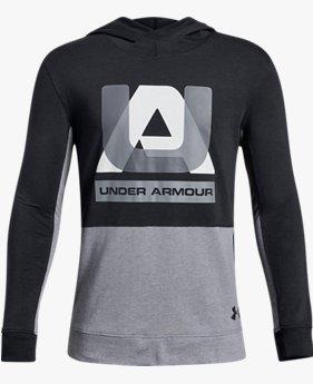 【アウトレット】UAスポーツスタイル フーディー(トレーニング/Tシャツ/BOYS)