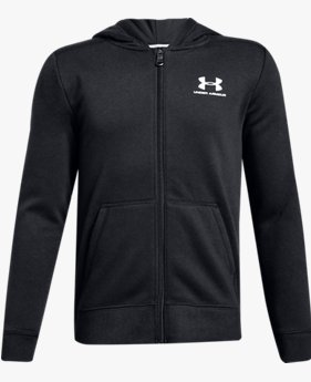Boys' UA Cotton Fleece Full Zip