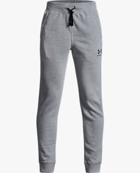 Boys' UA Cotton Fleece Joggers