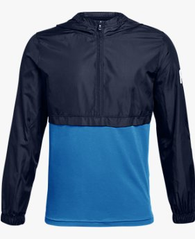 Boys' UA Windwear ¼  Zip