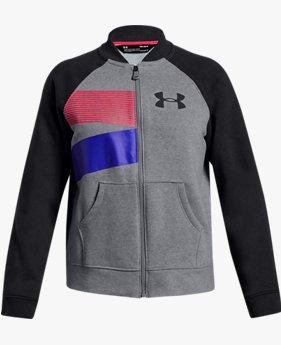 걸즈 UA 라이벌 플리스 보머 재킷