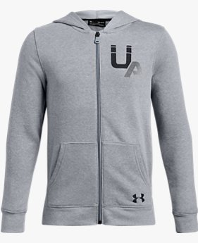 Boys' UA Rival Logo Full Zip