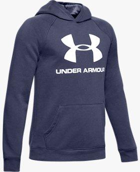 Boys' UA Rival Logo Hoodie