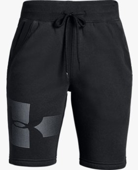 Shorts UA Rival Fleece Infantil Masculino - Graphic