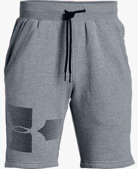 Shorts UA Rival Fleece Infantil Masculino - Graphic