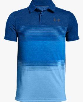 Kaus Polo UA Jordan Spieth Threadborne Gradient untuk Pria Muda