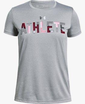 Kız Çocuk UA Athlete Tişört
