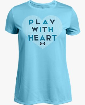 Kaus UA Play With Heart untuk Wanita Muda