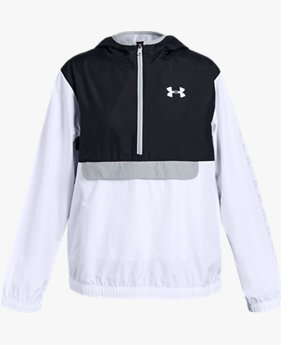 Girls' UA Sackpack ½ Zip Jacket