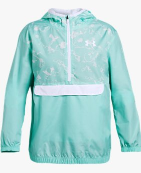 Girls' UA Sackpack ½-Zip Jacket