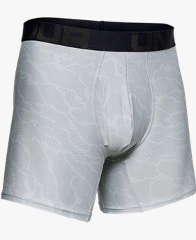 Herren UA Tech™ Boxerjock® Printed (15 cm)–2er-Pack
