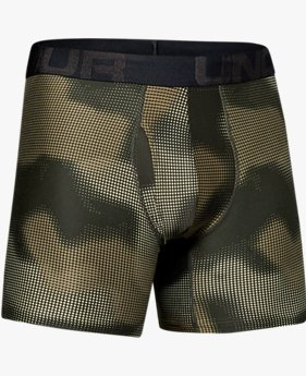 "Men's UA Tech™ 6"" Boxerjock® Printed – 2-Pack"