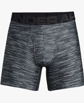 Herenboxer UA Tech™ Printed 15 cm Boxerjock® – 2 stuks