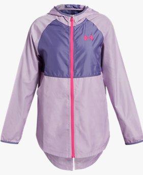 걸즈 UA 윈드웨어 재킷