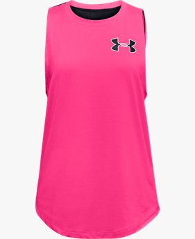 Girls' HeatGear® Armour Tank