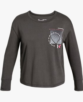 Girls' UA Branded Long Sleeve