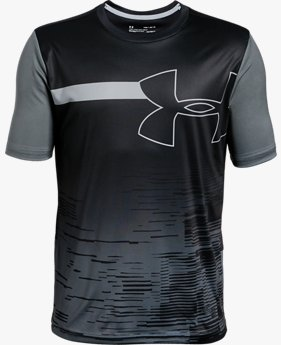 Boys' UA Sun Armour Short Sleeve