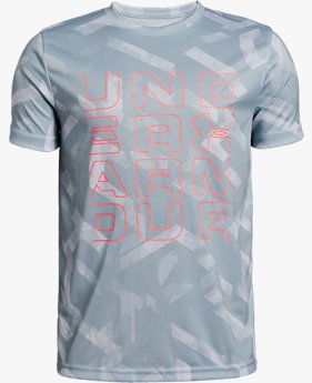 Boys' UA Tech™ Branded Short Sleeve T-Shirt