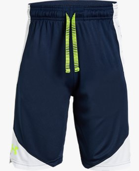 Shorts de Treino Infantil Masculino Under Armour Stunt 2.0