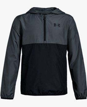 Boys' UA Sackpack ½ Zip Jacket