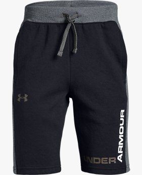 Boys' UA Unstoppable Double Knit Shorts