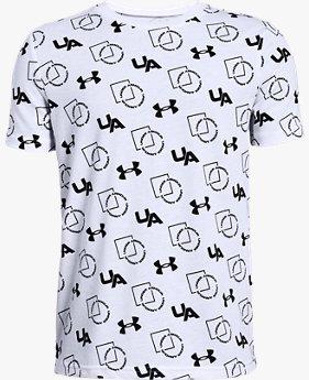 Camiseta UA Sportstyle Print Infantil Masculino