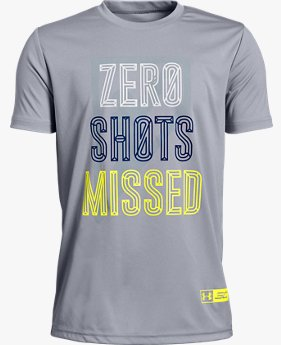 Boys' SC30 Zero Shots Missed Short Sleeve