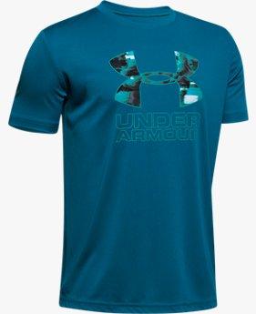 UAプリントTシャツ(トレーニング/Tシャツ/BOYS)