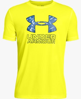 보이즈 UA 프린트 필 로고 티셔츠