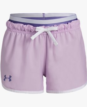 Girls' UA SPWW No Sweat Woven Shorts