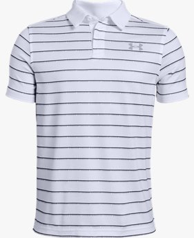 Boys' UA Vanish Stripe Polo