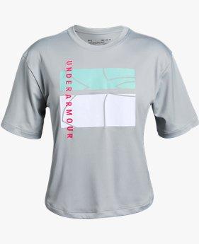 【アウトレット】UA BTH UPF50 Tシャツ(トレーニング/GIRLS)