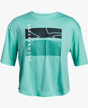 Girls' UA Sun Armour Short Sleeve T-Shirt