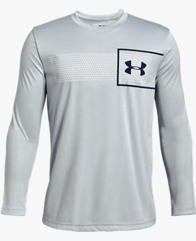 Boys' UA Branded Long Sleeve