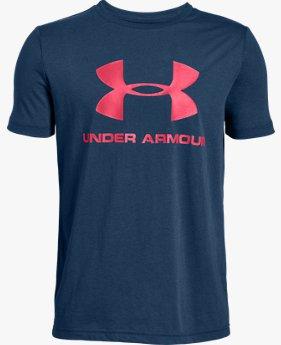 Camiseta UA Sportstyle Logo Infantil Masculino
