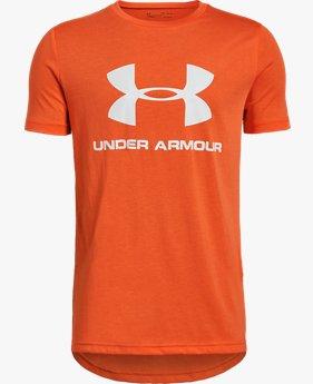 UA Sportstyle Logo Lengan Pendek untuk Pria Muda
