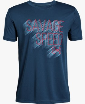 Boys' UA Savage Speed Short Sleeve