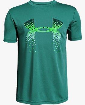 Boys' UA Digi Logo Short Sleeve