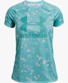 Camiseta UA Big Logo Printed Infantil Feminina
