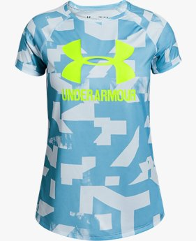 Girls' UA Big Logo Novelty T-Shirt