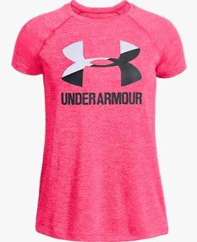 Kaus UA Big Logo Novelty untuk Wanita Muda 7ee0de62cf