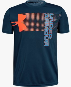 Erkek Çocuk UA Crossfade Tişört